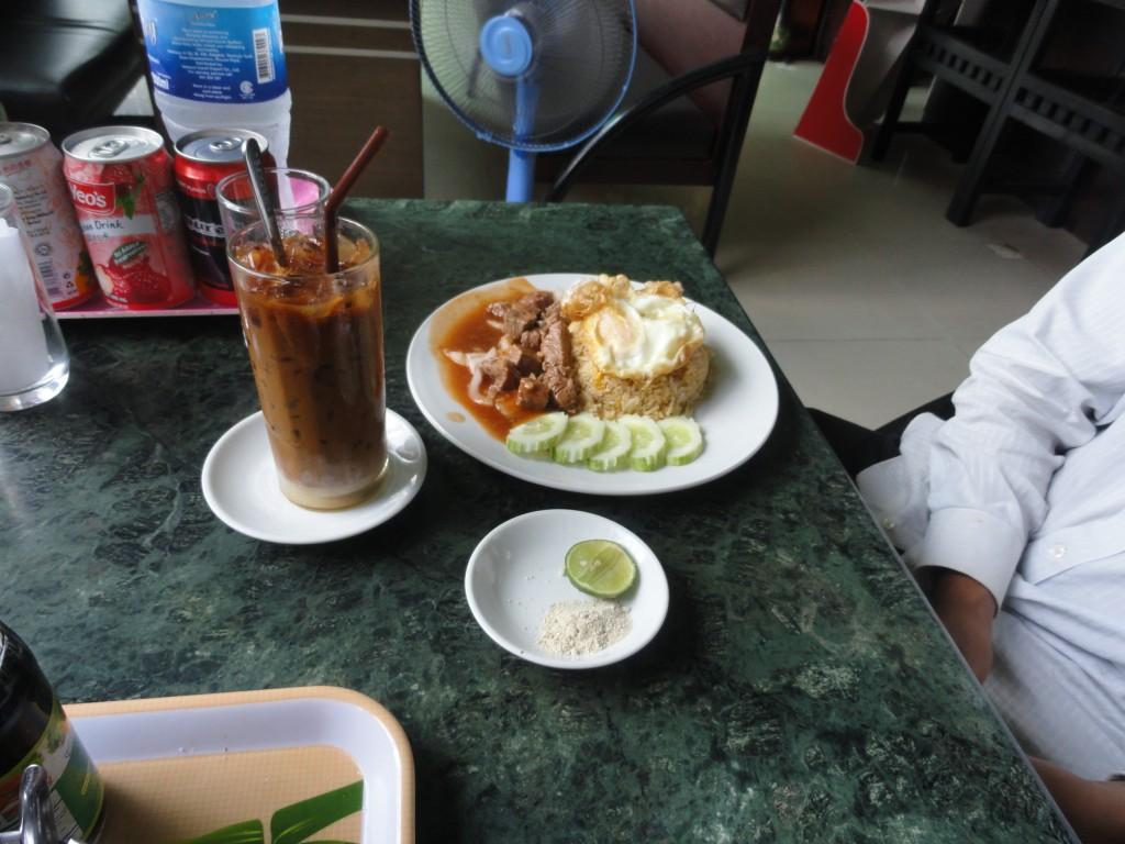 Traditional Khmer cuisine.