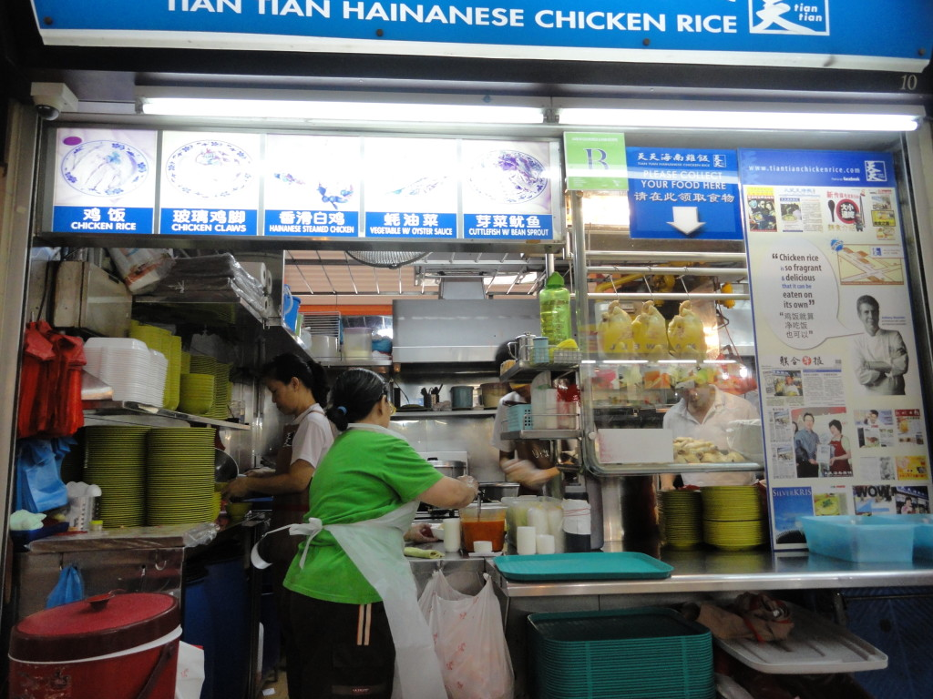 The reason I went back to Singapore. Anthony Bourdain made it out to seem like it was amazing - it was a disappointment.